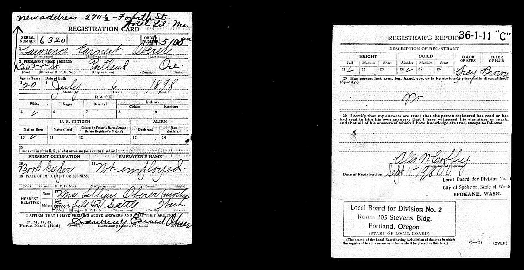 Descendents of henry george grabenhorst evelyn iowa grabenhorst state oregon birth date 6 jul 1898 race white xflitez Images